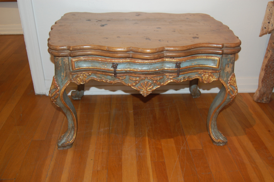 Spanish Colonial Style Replica 18th Century Table