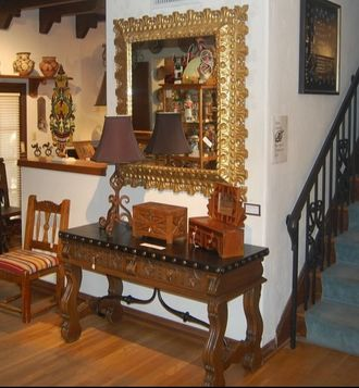 Traditional Spanish Colonial Furniture In 1521 Hernan Cortes And His Invaders Conquered The Aztecs Mexico Four Years Later Francisco